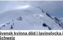 İsveçli genç bir kadın İsviçre'de öldü