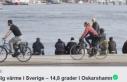 İsveç'te o bölgesinde sıcaklık 14 dereceyi...