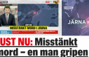Södertälje'de bir evde ceset bulundu