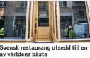 Dünyanın en iyi 50 restoranı seçildi; İsveç'ten...