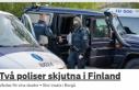 İki polis memuru vuruldu