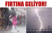 İsveç'te aşırı yağış ve fırtına uyarısı!