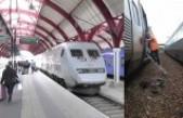 Elektrik kesintisinden dolayı trenlerde gecikme