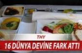 En iyi yemek servisi eden havayolu şirketi THY seçildi