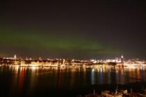 Kuzey Işıkları' Stockholm'de görüntülendi