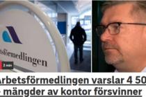 İsveç'te İşbulma Kurumu'nun bir çoğu kapanacak