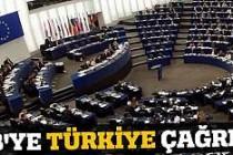 AB'ye Türkiye çağrısı