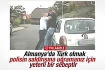 Alman polisinin Türk vatandaşına uyguladığı şiddet
