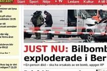 Bomba yüklü araba bu sefer Almanya'da patladı