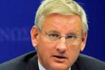 Carl Bildt, Türk Siyasileri İçin Toplantı Özgürlüğünü İstedi