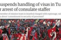 Dünya basını ABD ile vize krizini nasıl gördü?