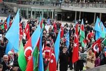 Ermenistan, Stockholm'de Protesto Edildi