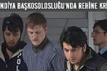 Finlandiya başkosolosluğu'nda rehine krizi!