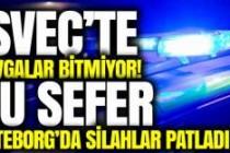 Göteborg'da silahlar konuştu 1 kişi vuruldu