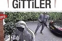İngiltere'de soygun anları kameraya yansıdı
