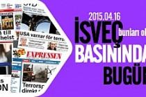 İsveç Basınında öneçıkan önemli haberler