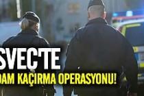 İsveç'te 3 kişi adam kaçırmadan yakalandı