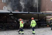 İsveç'te bir restoran kundaklandı