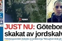 İsveç'te Deprem Oldu