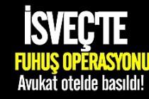 İsveç'te fuhuş operasyonu