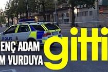 İsveç'te genç adam kim vurduya gitti!
