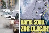 İsveç'te hafta sonu büyük yağmurlar bekleniyor