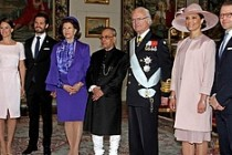 İsveç'te, Hindistan Devlet Başkanının konvoyunda kaza