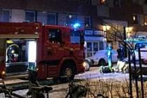 İsveç'te iki kişi yakılarak öldürülmek istendi