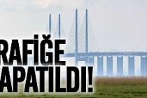 İsveç'te köprü trafiğe kapandı