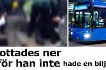 İsveç'te otobüs şoförüne akıl almaz işkence!