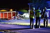 İsveç'te patlama çatıyı uçurdu