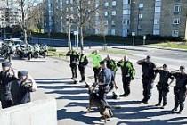 İsveç'te polis köpeğine hüzünlü ölüm töreni