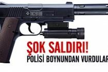 İsveç'te polisi susturucu silahla boynundan vurdular!