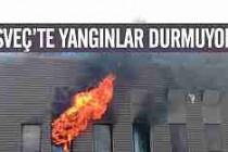 İsveç'te sanayi yangınları can yakıyor!