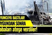 İsveç'te soyguncular terör estirdi!