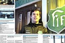 Jönköping Nässjö ilçesinde, kahraman ilan edilen Türk!