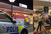Kallhäll'de ICA'ya bıçaklı soygun!