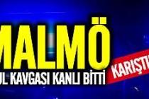 Malmö'de bıçaklı okul kavgası