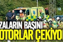 Malmö'de kaza: 2 kişi hastanelik oldu