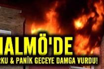 Malmö'de korku! Yangın mı bomba mı?