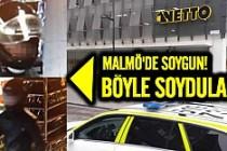 Malmö'de Netto mağazasına silahlı soygun