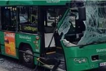 Malmö'de yolcu otobüsleri çarpıştı