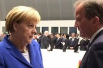 Merkel,  İsveç Başbakanı Löfven'i Kabul etti