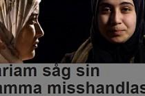 Müslüman olduğu için annesinin dayak yediğini  göz yaşları içinde anlattı....VİDEO