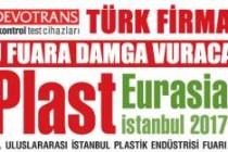 Sektörün lideri DVT DEVOTRANS, Plast Eurasia 2017 fuarında