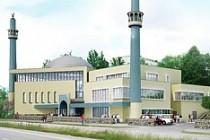 Skärholmen'e çift minareli cami