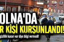 Solna'da bir genç vuruldu