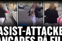 Stockholm'de iki genç kıza ırkçı saldırı