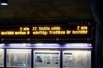 Stockholm'de  terör paniği: 1 tren istasyonu boşaltıldı
