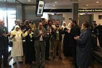 Stockholm'den Umreciler Dua İle Kutsal Topraklara Uğurlandı
